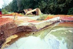 Underground Tank Removal and Oily Groundwater Recovery at Former Magic Marker Site